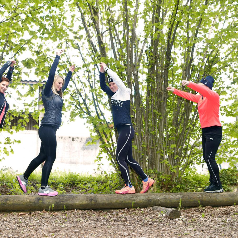 Fitnessgruppe für Frauen